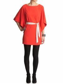 Love this red kimono dress