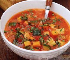 Рецепт: Овощной суп на RussianFood.com