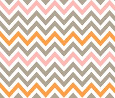 Bright Side Chevron fabric by fable_design on Spoonflower - custom fabric