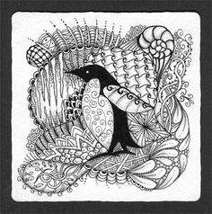 Animal Zentangles    Visit original site for more examples