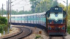 The system of Indian train numbers