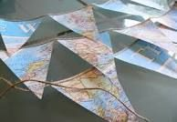 bunting - easy to make and looks great in your house looks effortless !!!xxx