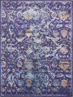 purple lexington area rug