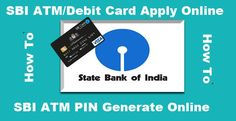 sbi atm debit card apply