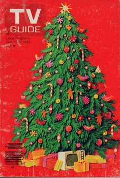 A Very TV Guide Christmas: Holiday Season Television in the – Flashbak – Michelle Moser - Valentines 1980s Christmas, Christmas Cover, All Things Christmas, Winter Christmas, Christmas And New Year, Christmas Holidays, Christmas Cards, Xmas, Christmas Fashion
