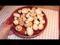 Vynikající žampiony, které jste ještě nejedli! Rychlé, snadné, chutné! # 271 - YouTube Croissants, Sans Gluten, Fungi, Brunch Recipes, Vegetable Recipes, Salad Recipes, Dips, Stuffed Mushrooms, Beans