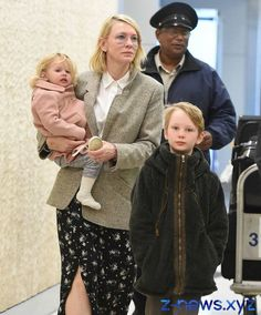 Photographers caught cate Blanchett and her adopted daughter in ...