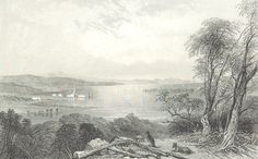 Port Stephen, New South Wales - c. Engraving of a Drawing by John Skinner Prout Newcastle Nsw, New South, Historical Pictures, South Wales, The Past, Australia, Drawings, Painting, Outdoor