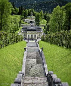 Castle Linderhof, Bavaria, Germany