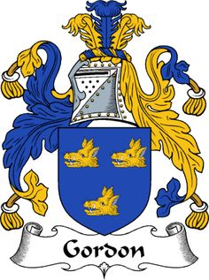 Gordon Clan Coat of Arms