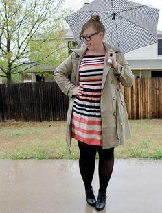 Blog mode femme ronde : les 10 blogueuses rondes quil faut garder à loeil #8  @Dani M #fatshion #diy #psbloggers #plussize #stripes
