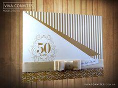 Convite Bodas de Ouro 002   10unid.