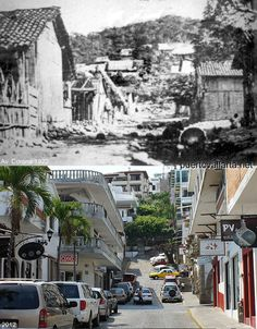 Calle Corona, 1922 vs 2012. 90 years apart... certainly the change has been for the better... or no?