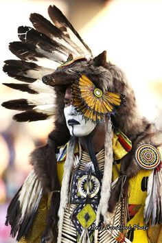 Native American Dancer - I love the Native American Festivals in our area.  Watch in the fall for ones posted to the Golden Light Wellness Center FB page.