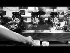 "Espresso: ""It's such a volatile process. It's kind of a violent thing, extracting espresso... And any misstep by the barista is going to manifest itself in the cup in a very unpleasant way."" -Kyle Glanville / Intelligentsia, 2010."