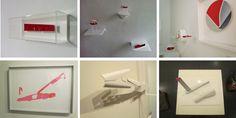 Eduardo Alonso utiliza las técnicas del maquetismo al servicio de la expresión artística, en un contexto de multidisciplinariedad que bebe de las artes narrativas, la arquitectura y la tradición minimalista en la que la huella manual del artista queda anulada y la interrelación con el espacio expositivo es un factor clave a la hora de mostrar el trabajo.
