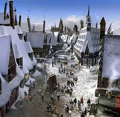 The Wizarding World of Harry Potter, Orlando, FL --remind me again why i haven't been here? spring break '12?