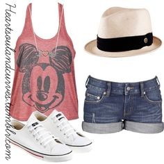 I like everything about this outfit expect for the hat. But other than that perfect for my Disney World trip.