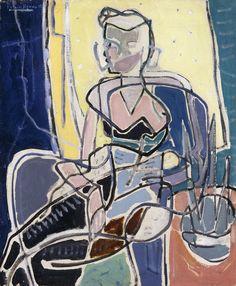 Girl with Jonguils, Patrick Heron
