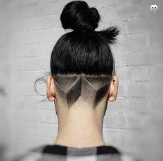 Nice design with the manbun