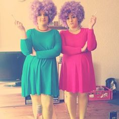 Patty and Selma Bouvier: Such unique DIY Halloween costumes to rock with your bestie this year.