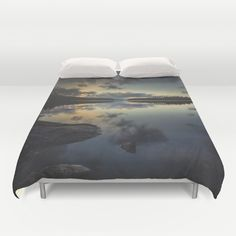 Buy ultra soft microfiber Duvet Covers featuring Speechless by HappyMelvin. Hand sewn and meticulously crafted, these lightweight Duvet Cover vividly feature your favorite designs with a soft white reverse side.
