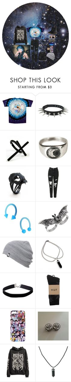 """Can You Feel My Heart~Bring Me The Horizon"" by headbangingunicorn ❤ liked on Polyvore featuring B. Ella, Emi Jewellery, Suzannah Wainhouse, Topshop, Topman, Miss Selfridge, HUF and Dr. Martens"