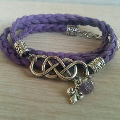 Check out this item in my Etsy shop https://www.etsy.com/listing/244945331/infinity-wrap-bracelet-stacking-bracelet