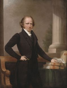 Martin Van Buren  -  Governor of New York, 1829.  Shortly after becoming Governor, Van Buren became Vice-President of the United States under President Andrew Jackson.