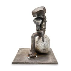Bolt Poetry: Oslo-based blacksmith and photographer Tobbe Malm Evokes Surprisingly Human Forms from Single Steel Bolts