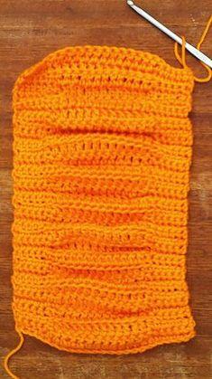 Crochet Stitches Patterns, Stitch Patterns, Dish Towel Crafts, Knitted Hats, Crochet Top, Cross Stitch, Knitting, Top Pattern, Halloween