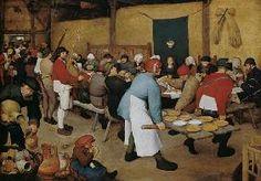 Pieter Brueghel El Viejo - Matrimonio paisano