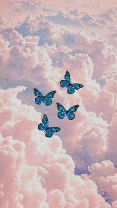 aesthetic butterfly wallpaper :)