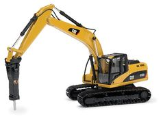 ***NORSCOT - 55282 - Caterpillar 323D Tracked Excavator with demolition $67 3000Toys