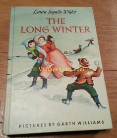 The Long Winter Laura Ingalls Wilder  1953 by Vintage4sure on Etsy, $30.00