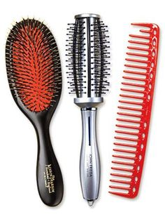 Are you sure you're using the right brush for your hair?