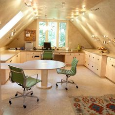 Simple and Professionals Contemporary home office ideas home office design. modern home office ideas. list of home office ideas. Interesting Contemporary Home Office Setup Ideas. Bonus Room Design, Sewing Room Design, Craft Room Design, Craft Space, Sewing Rooms, Design Room, Sewing Art, Sewing Studio, Library Design