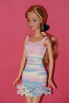 Roupa para boneca barbie