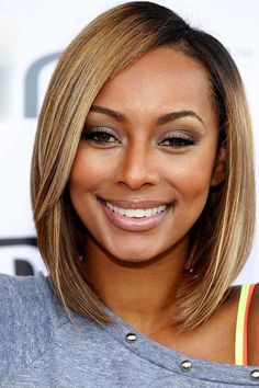 20  Bob Cut Hairstyles for Black Ladies | http://www.short-hairstyles.co/20-bob-cut-hairstyles-for-black-ladies.html