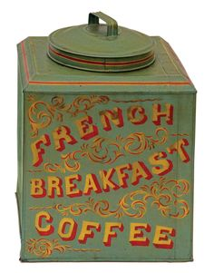 19th C. Country Store Tin