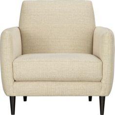 Parlour oatmeal chair