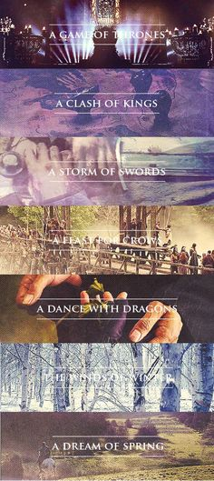 A Song of Ice and Fire Series.
