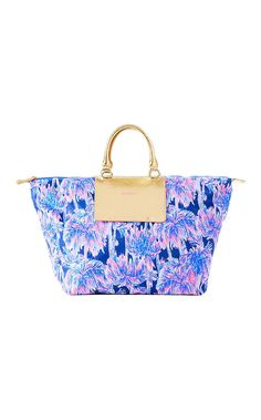3fd17bde7e Lilly Pulitzer Packable Escape Weekender New Chic