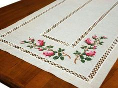 """Kanavice """"This post was discovered by Zuh"""" Cross Stitch Pillow, Cross Stitch Rose, Cross Stitch Flowers, Cross Stitch Charts, Cross Stitch Embroidery, Embroidery Patterns, Hand Embroidery, Cross Stitch Patterns, Roses And Violets"""