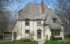 American Architecture Inspired by French Style: French Eclectic Inspired by Normandy
