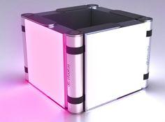 EYE-TOUCH Illumination system Design Gang proposed for SHARP Design Contest 2013 (Light for Emotional Comfort) www.designgang.net