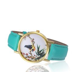 >> Click to Buy << Top Brand Floral Wrist watches for women Retro Dial Leather Band Analog Wrist Watch Watches Relogio feminino Female Hour New #Affiliate