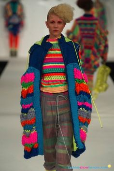 One of my faves from Graduate Fashion Week = Alison Woodhouse!!! #GFW De Montfort University Autumn/Winter 2012-13 London - Ready-To-Wear