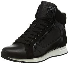 ALDO Wasula, Damen Hohe Sneakers, Schwarz (Black Leather 97), 39 EU - http://on-line-kaufen.de/aldo/39-eu-aldo-wasula-damen-hohe-sneakers-2