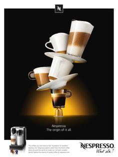 Nespresso advertisement